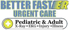 Better Faster Urgent Care Logo